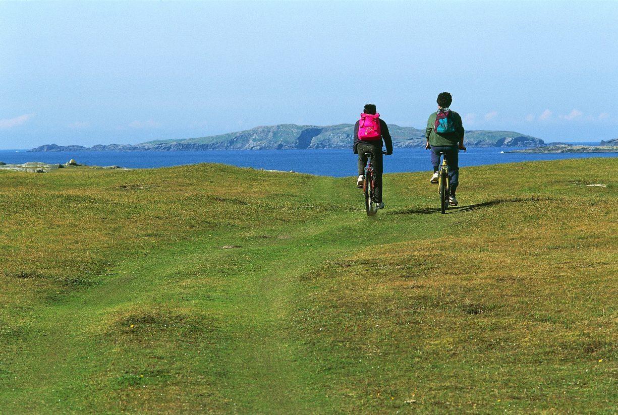 Connemara cycling.
