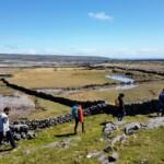 Hiking on the Wild Atlantic Way on the 8 Day Explorer Tour. Beyond the Glass Adventure Tour on Ireland's Wild Atlantic Way.