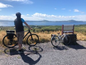 Cycling in West Cork.