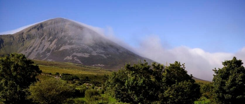 Croagh Patrick, County Mayo, Ireland's Wild Atlantic Way.